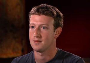 Mark Zuckerberg, the founder of Facebook