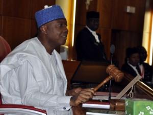 Nigeria Senate President Bukola Saraki