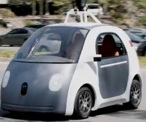 Google 'driveless' car