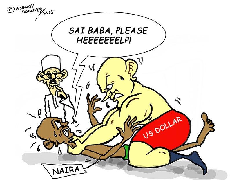 Naira v Dollar (Image credit: Daily Times [Nigeria])