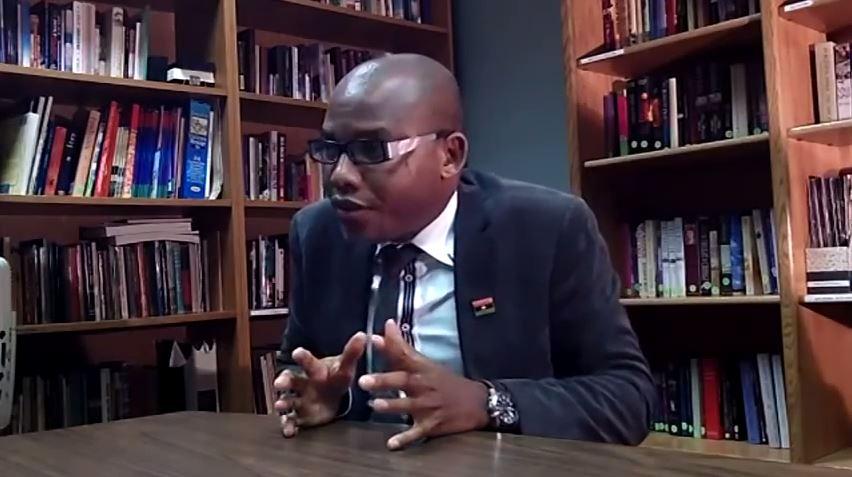Nnamdi Kanu. (Screen shot via Youtube)