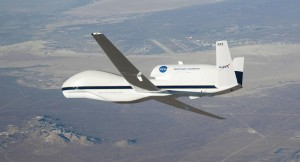 NASAs Global Hawk Drone. (Image credit Wikipedia/Carla Thomas/NASA)