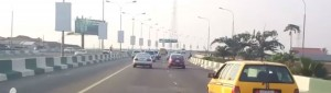 3rd Mainland Bridge in Lagos