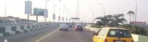 3rd Mainland Bridge in Lagos