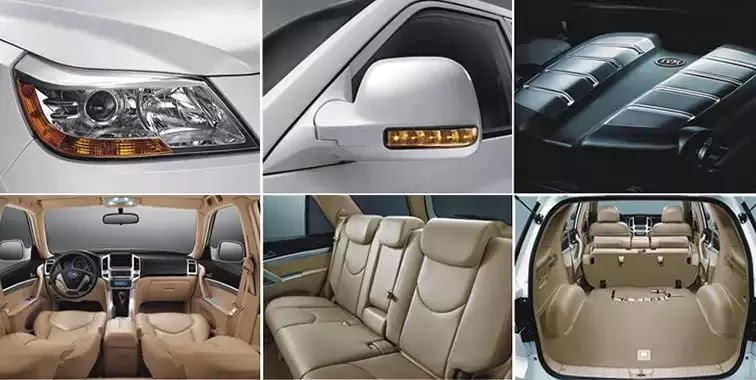 An Interior View of the IVM SUV model by Innoson Vehicle Manufacturing Company