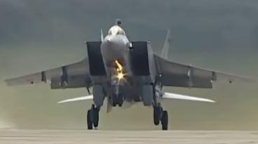 Military aircraft MiG-31