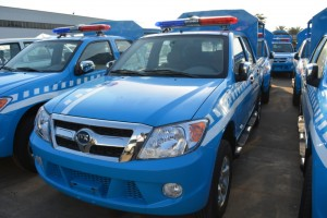 Pickups for the Nigerian Road Safety Corps by Innoson Vehicle Manufacturing Company