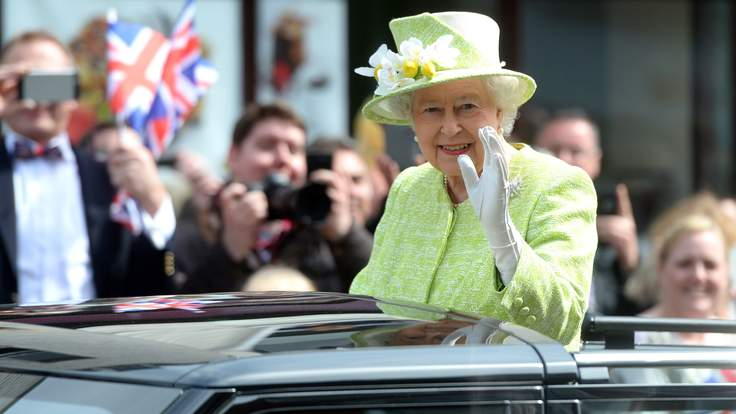 Queen Elizabeth II. (Image credit Sky News)
