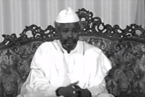 Chad's former dictator Hissene Habre