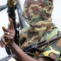 Niger Delta Avengers. (Image credit @NDAvengers)