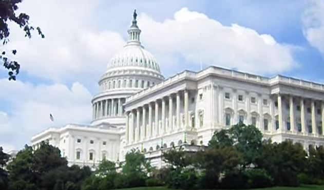 U.S. Capitol, the home of the United States Congress.