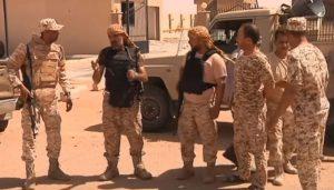 Libya troops