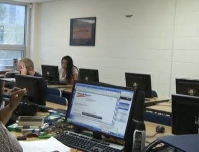 Laptop. Technology. Corporate. Office.