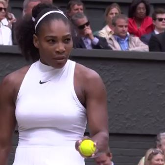 Wimbledon 2016: Serena Williams, the 9th July 2016