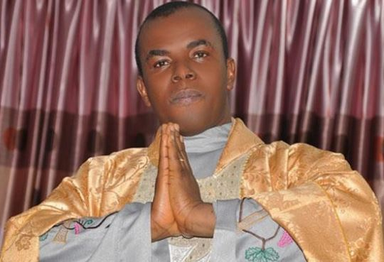 Rev Fr Ejike Mbaka, a Catholic Priest who's the founder and spiritual director of Adoration Ministry Enugu, Nigeria