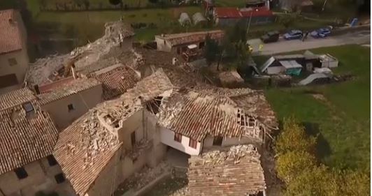 Earthquake hit Italy, 27 October 2016