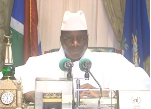 President of the Islamic Republic of The Gambia, Yahya AJJ Jammeh Babili Mansa