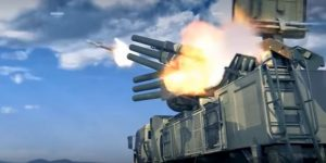 Military weapon: Pantsir-S1 Air Defense Missile Gun System