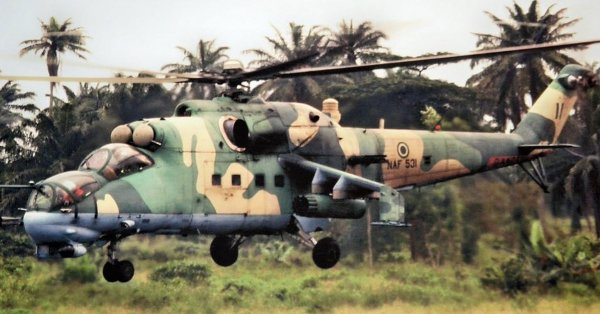 Military aircraft of the Nigerian airforce