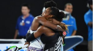 Serena Williams beat her older sister Venus to claim a seventh Australian Open title (Image credit Sky Sports)