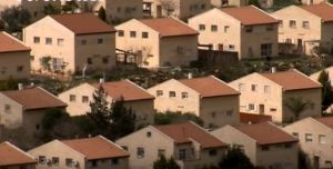 The settlements built by Israel