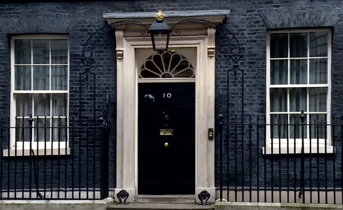 10 Downing Street, the headquarters of government of the United Kingdom