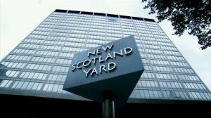 New Scotland Yard, the HQ of the Metropolitan Police Service