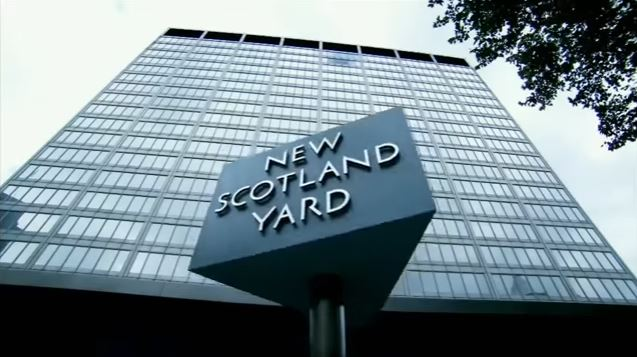New Scotland Yard, the HQ of the Metropolitan Police Service