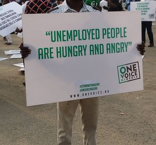 Nigerians protest, seek good governance as recession bites, 6th February 2017