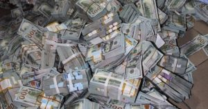 Nigeria's anti-corruption agency EFCC found $43 million cash in Lagos apartment.