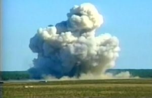 United States' mother of all bombs, the country's largest non-nuclear military arsenal was unleashed on a network of caves and tunnels used by Islamic State in eastern Afghanistan, 13.4.17