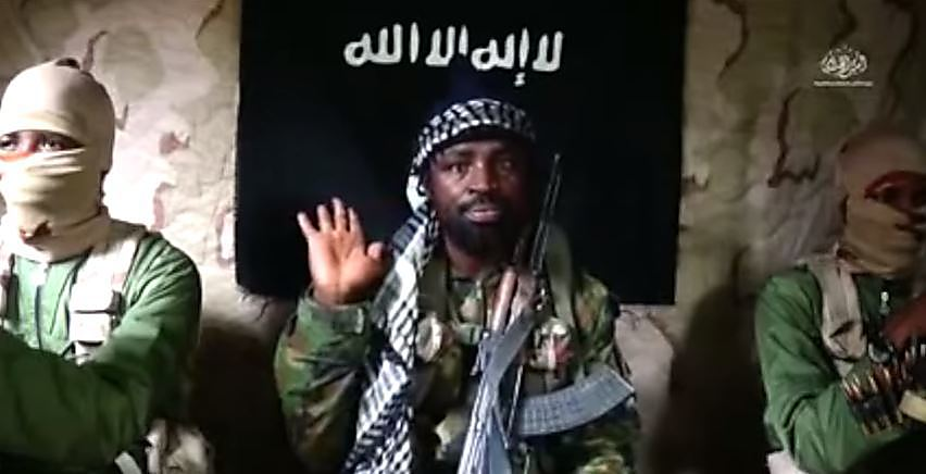 Abubakar Shekau, the leader of the Boko Haram terrorist organisation