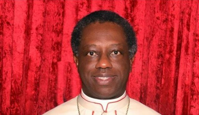 Archbishop Jude Thaddeus Okolo. (Image credit: Catholic Communications Office)