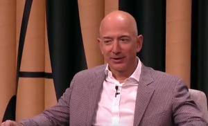 Amazon.com founder & CEO Jeff Bezos