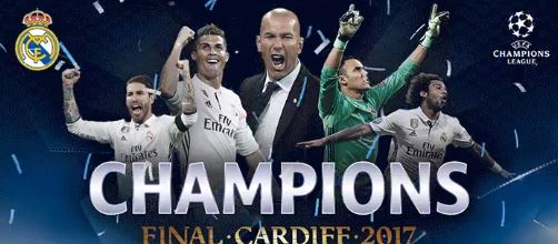 Real Madrid win 2017 Champions League edition, June 2017. (Image culled out from @ChampionsLeague/twitter)