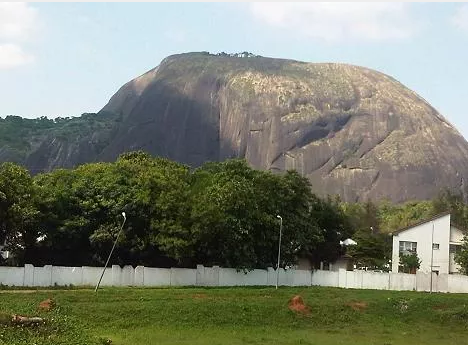Aso Rock, the location of Nigeria's presidency