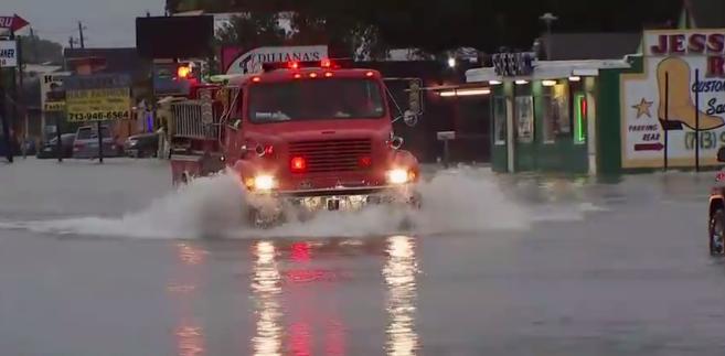 Floods on the streets: Hurricane Harvey caused widespread devastation since it hit Texas, 25 August 2017