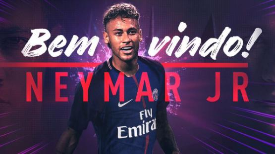 Neymar da Silva Santos. (Image credit PSG Officiel/@PSG_inside)