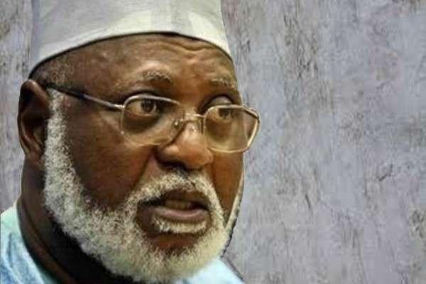 Abdulsalami Abubakar, a former Nigerian Head of State