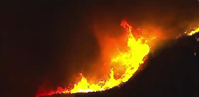 California wildfires, December 2017