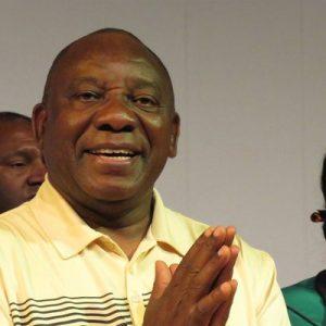 Cyril Ramaphosa. (Image source: Twitter/@DPRamaphosa)