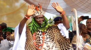 Gani Adams as Aare Ona Kakanfo. (Photo credit: Timothy Adegodiran & NAN)