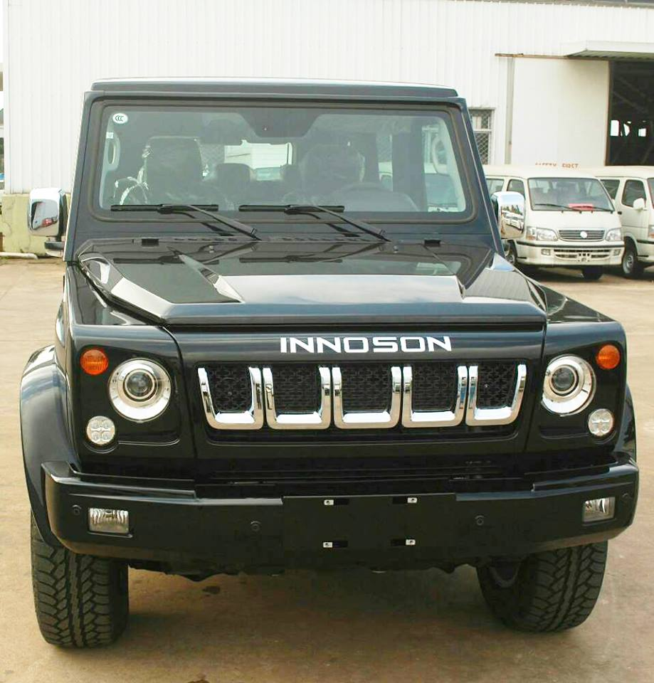 One of the vehicles' made by Innoson Vehicle Manufacturing Company