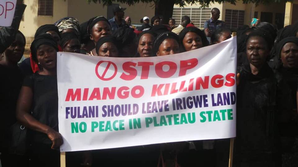 Herdsmen attack on Irigwe people of Plateau State