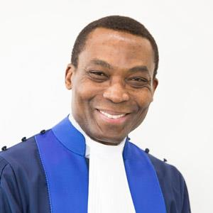 Judge Chile Eboe-Osuji. (Image credit ICC)