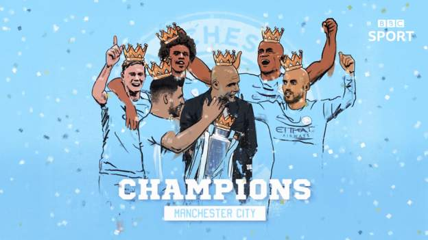 Manchester City Wins 2017/18 English Premier League