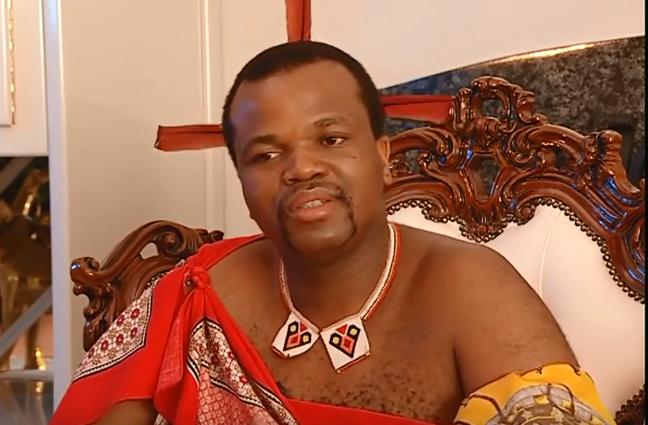 Swaziland King Mswati III