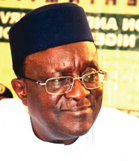 Gani Fawehinmi [1938-2009], a civil rights icon and expert in law.