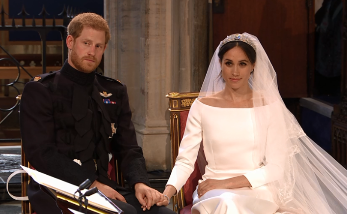 Meghan Markle and Prince Harry wed at Windsor Castle, 19 May 2018