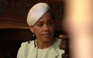 Meghan Markle's mother Doria Ragland at the wedding, 19 May 2018